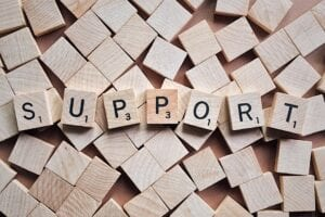 support from a cancer advocate